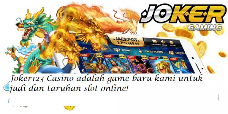 Joker123 Casino adalah game baru kami untuk judi dan taruhan slot online!